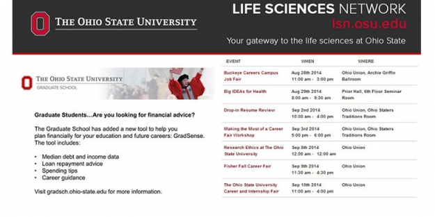 The Ohio State University : Life Science Network Information Display