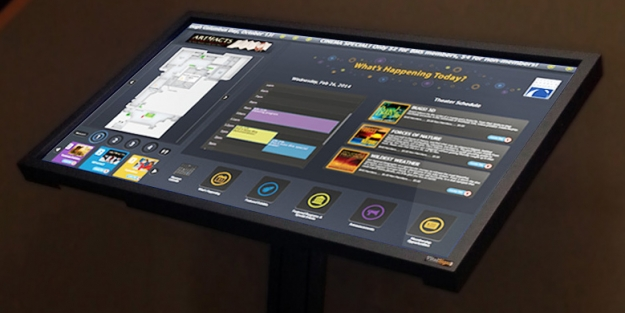 Buffalo Museum of Science – Wayfinding Touchscreens